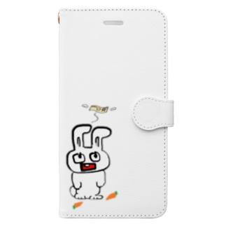 すまほけーす さんぷる① Book-style smartphone case