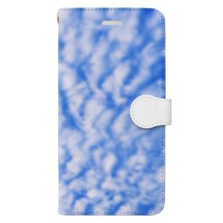 秋の雲 Book-style smartphone case