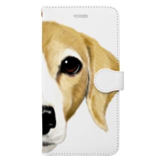 はなこさん Book-style smartphone case