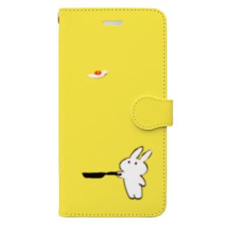 めだまやき Book-style smartphone case