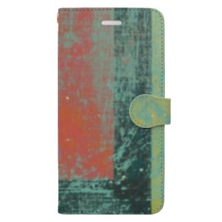 レターオールソーツのGhost Lines - U Book-style smartphone case