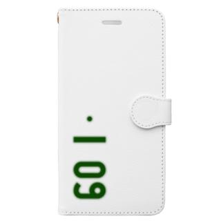marikiroの0109_誕生日_記念日_ナンバープレート Book-style smartphone case