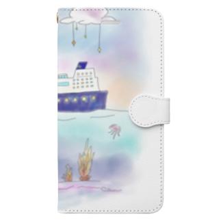 地平線の正体 Book-style smartphone case