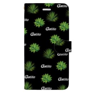 アガベ Book-style smartphone case