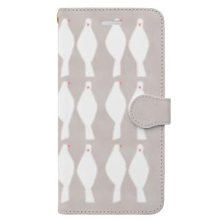 white bird Book-style smartphone case