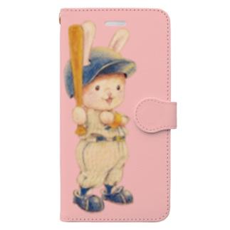 野球日和 気分はメジャーリーガー Book-style smartphone case