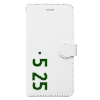 0525_誕生日_記念日_ナンバープレート Book-style smartphone case