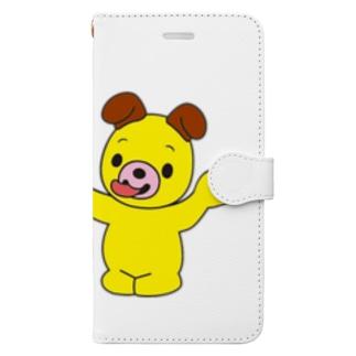 いないいないべぇ~ スマホケース Book-style smartphone case