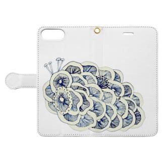 茸虫 Book-style smartphone case