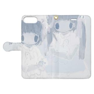 治癒ㅤ Book style smartphone case