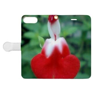 フラメンコ Book-style smartphone case