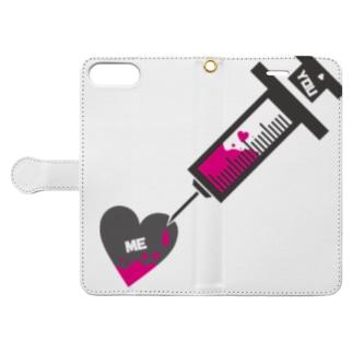 ΔΩPEAN -Syringe- Book-style smartphone case