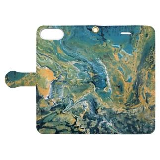 pollute Book style smartphone case