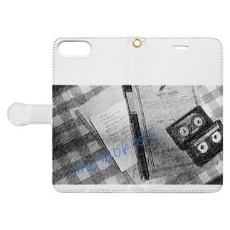 ノスタルジックな Book-style smartphone case