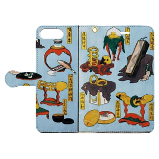 葛飾北斎 大人のおもちゃ Book-style smartphone case