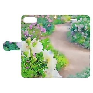 小路 Book-style smartphone case