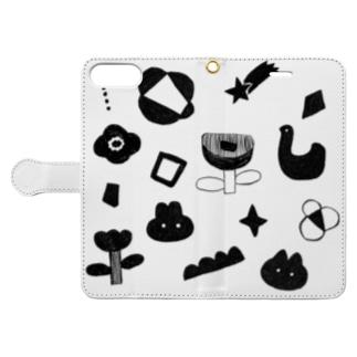 wakuwaku Book style smartphone case