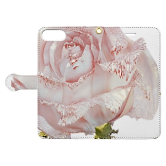 ROSE ONE - up Book style smartphone case