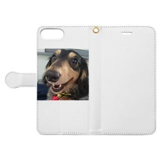 ベティ Book-style smartphone case