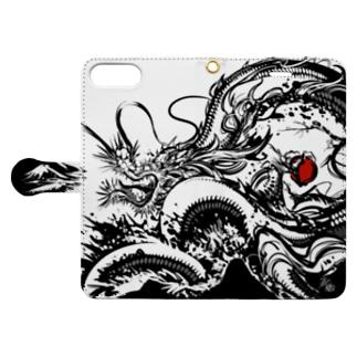 覇 Book-style smartphone case