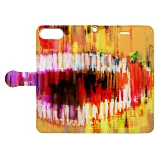 笑顔くんver.1.2.69 Book-style smartphone case
