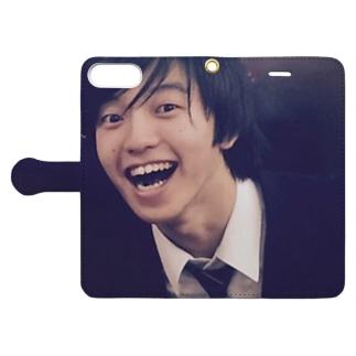 あっぷるささき君 Book-style smartphone case