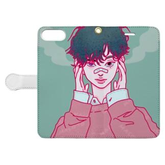 ききたくないと君 Book-style smartphone case