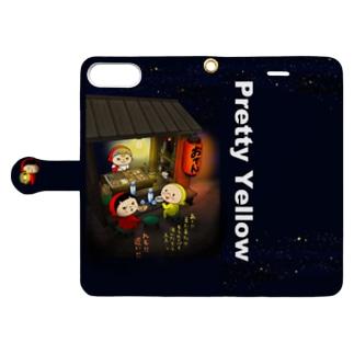 おばばのおでん Book style smartphone case