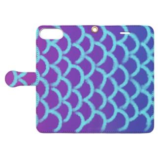 鱗 Book style smartphone case