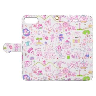 いろいろあるな〜 Book-style smartphone case