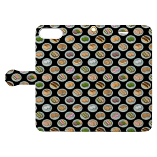 Okashi_FB_1K Book-style smartphone case