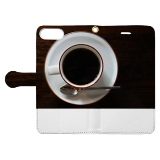 coffee cup Book-style smartphone case