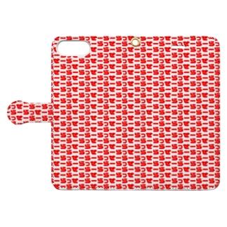 らっせーらー Book-style smartphone case