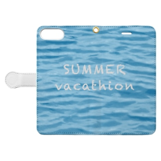 SUMMER vacathion Book-style smartphone case