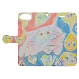 tomodachi Book-style smartphone case