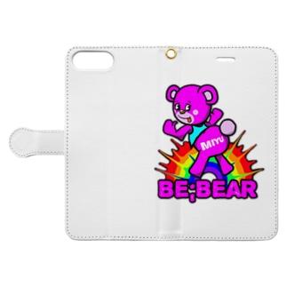 Be;Bear(MIYU) Book-style smartphone case