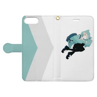 んあ~ Book-style smartphone case