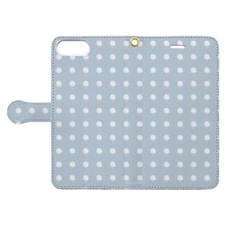 綿あめドット Book style smartphone case