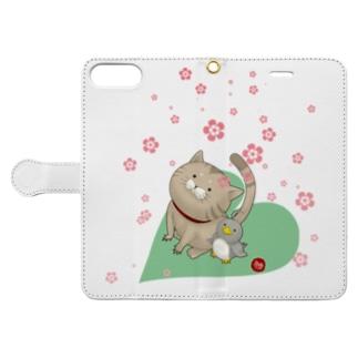 もぐ&ジュリ Book-style smartphone case
