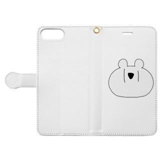 めりっくま Book-style smartphone case