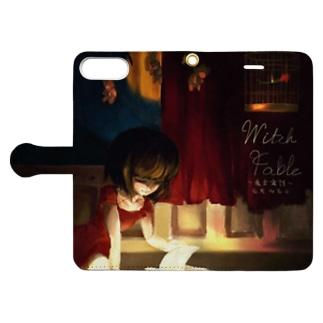 魔女寓話グッズ Book-style smartphone case