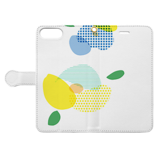 S_tarou_のはな ① Book-style smartphone caseを開いた場合(外側)