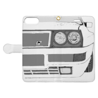 LANCIA DELTA HF FRONT(BK)  Book-style smartphone case