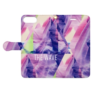 THE WAVE TRIANGLE Book-style smartphone case
