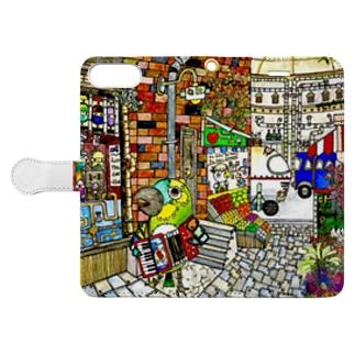 ROBOBO 「ボウ助ロボ マネーの行方」 Book-style smartphone case