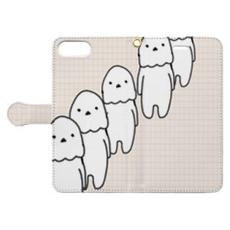 ぬぼ~さんズ Book-Style Smartphone Case