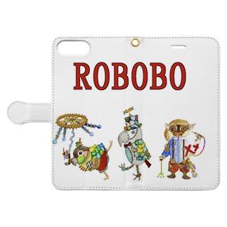ROBOBO ロボトリオ🤖 Book-style smartphone case