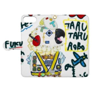 ROBOBO🤖 「たるたるロボ」 Book-style smartphone case