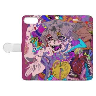 白昼夢 Book-style smartphone case