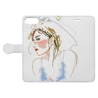 July bride Book-style smartphone case